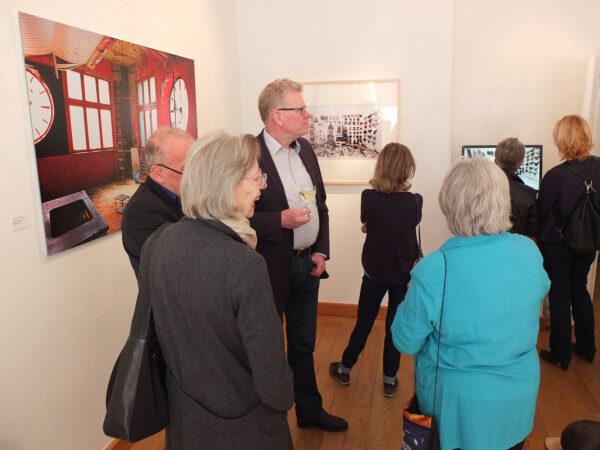 Vernissage Ex und Hopp Jeanne Fredac Bayreuth