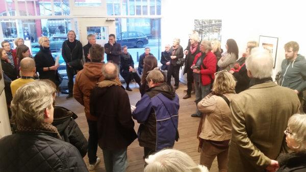 Vernissage Verlassene Orte Jeanne Fredac Bremerhaven 1