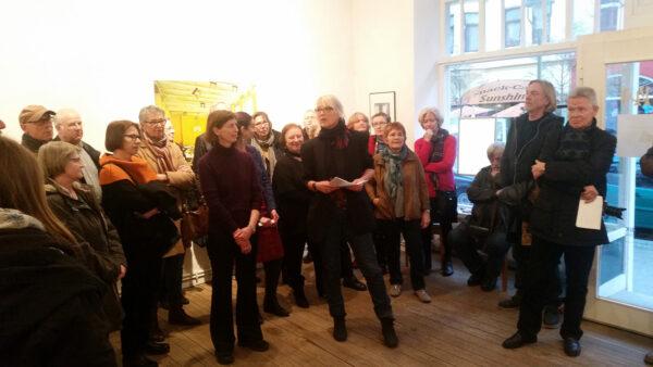 Vernissage Verlassene Orte Jeanne Fredac Bremerhaven 2