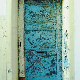 Die blaue Tür, Jeanne Fredac © Adagp, Paris, 2021
