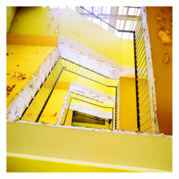 L'escalier de Rossalinda, 2011, Jeanne Fredac © Adagp, Paris, 2021